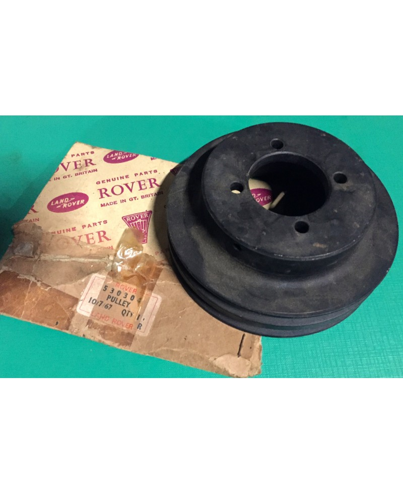 Land Rover Series 2a 3 Double Water Pump Pulley 530304