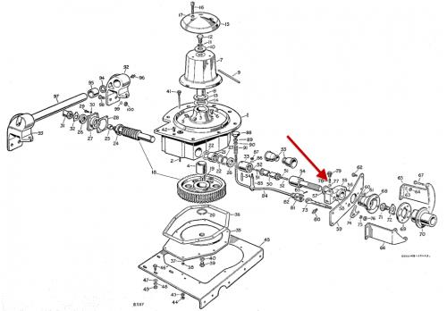 Aeroparts Capstan Winch Control Rod Selector Spring 211382